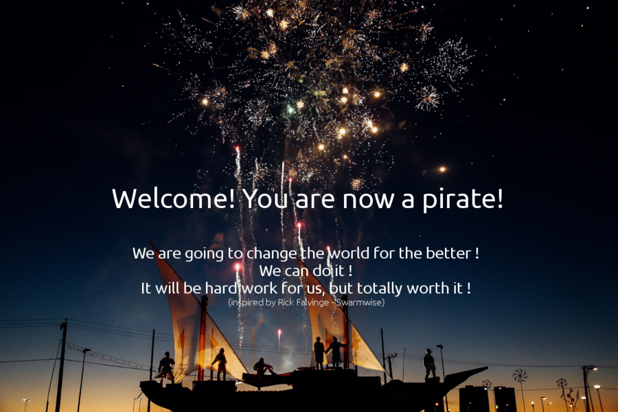 welcome, you are now a pirate!
